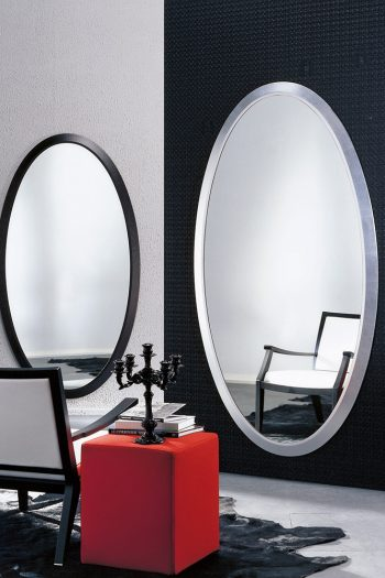 Porada Four Seasons Oval Mirror