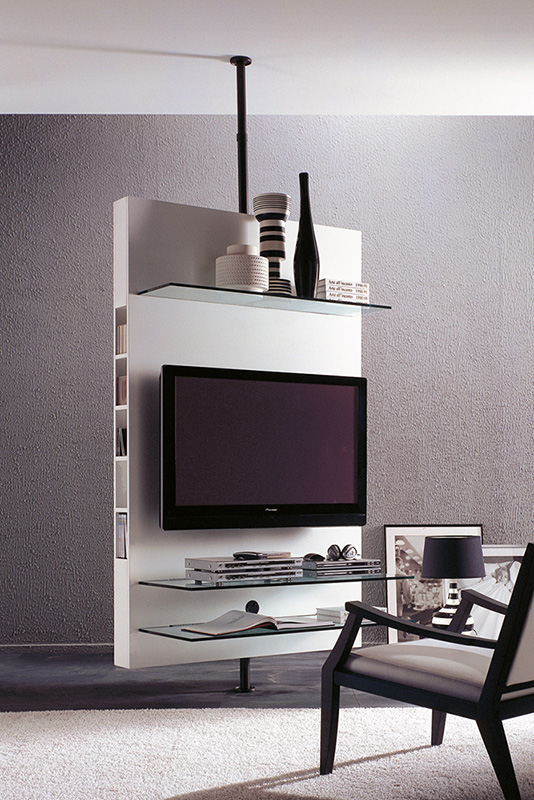 Porada MediaCentre Ceiling TV Stand