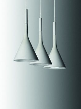 Clearance: Aplomb White Suspension Light Foscarini (New)