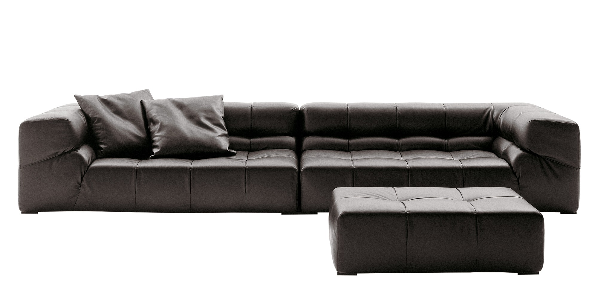 B B Italia Tufty Time Leather Sofa Buy From Campbell Watson Uk