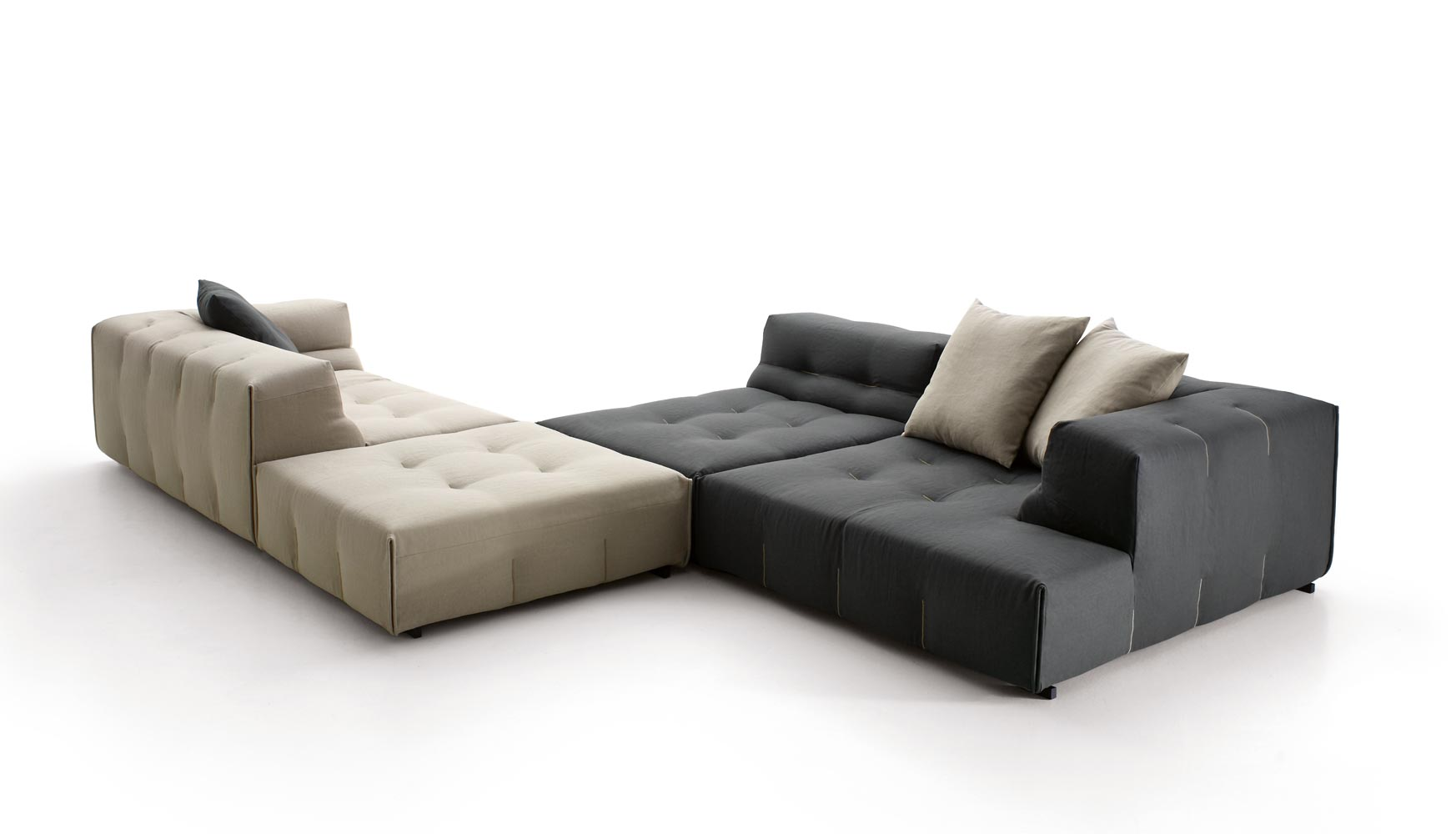 b b italia tufty too sofa. Black Bedroom Furniture Sets. Home Design Ideas