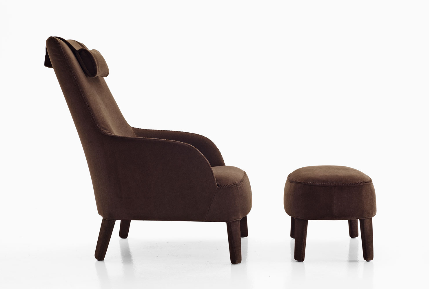 maxalto b b italia febo armchair buy from campbell watson uk. Black Bedroom Furniture Sets. Home Design Ideas