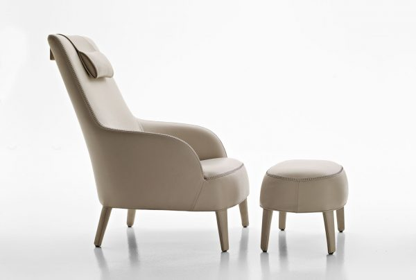 maxalto b b italia febo armchair buy from campbell watson uk. Black Bedroom Furniture Sets. Home Design Ideas