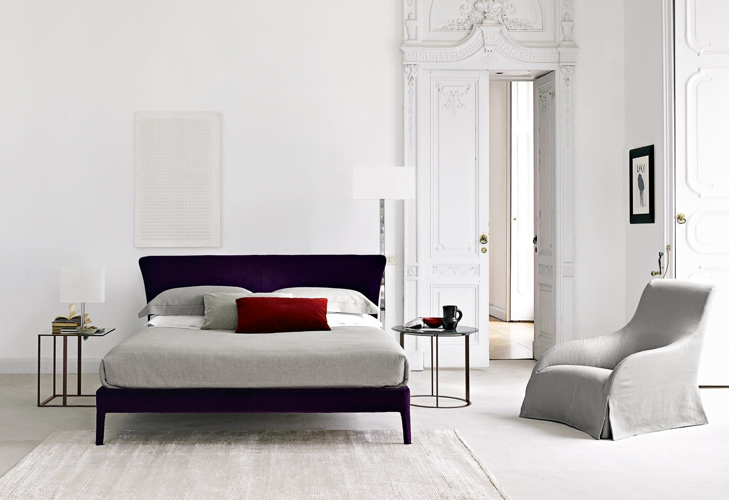 maxalto b b italia febo bed buy from campbell watson uk
