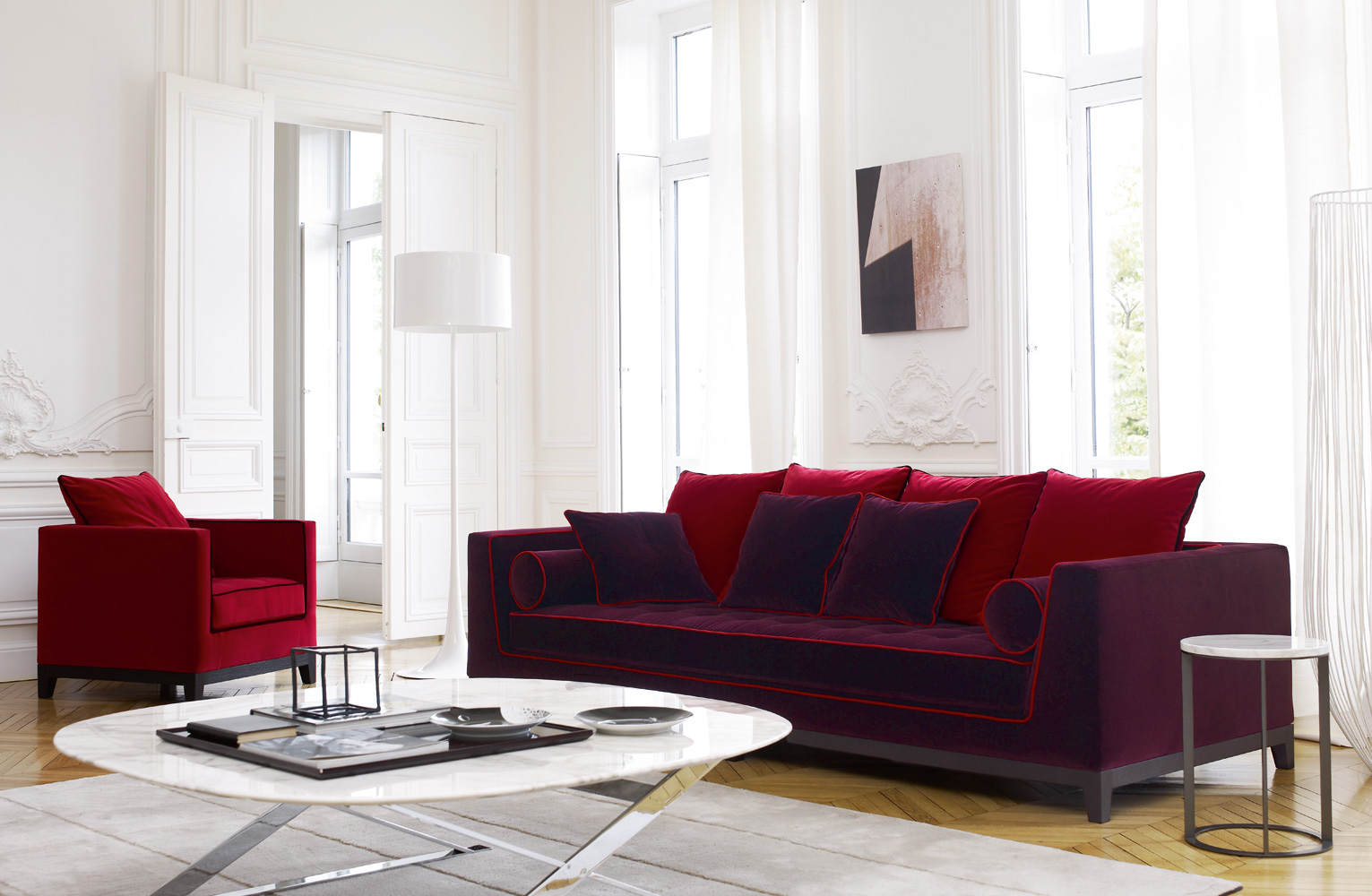 Maxalto b b italia lutetia 2011 sofa buy from campbell for B b couch