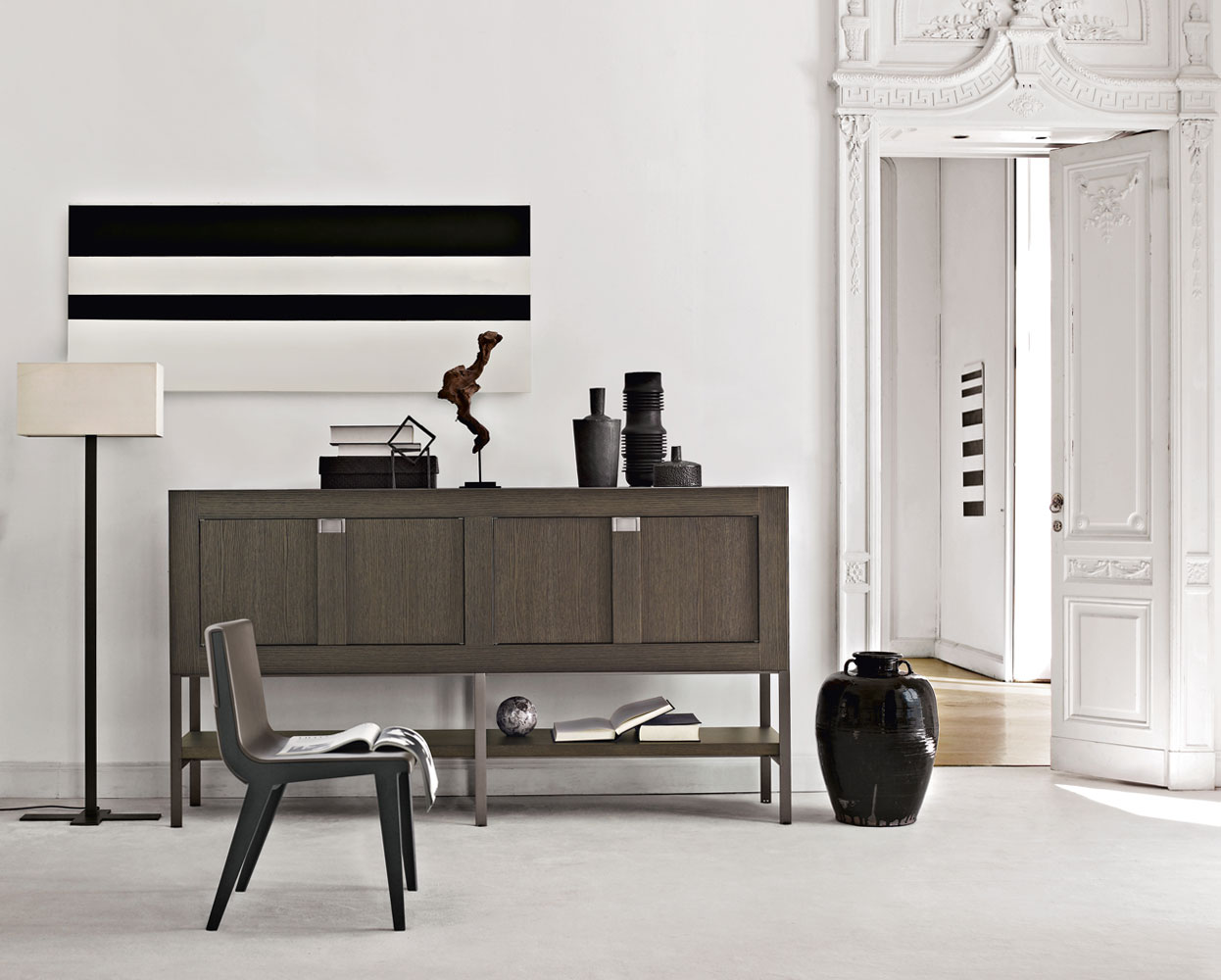 maxalto b b italia eracle sideboard buy from campbell watson uk. Black Bedroom Furniture Sets. Home Design Ideas