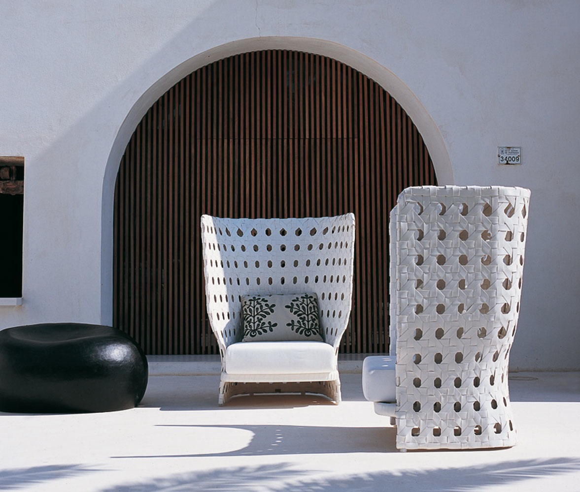 B b italia outdoor canasta armchair buy from campbell for B and b italia outdoor