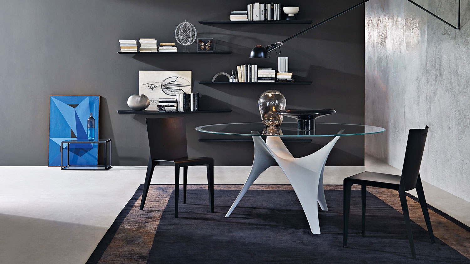 Molteni c arc table for Material table design