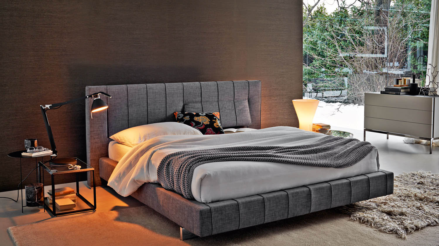 Molteni & C High-Wave Bed