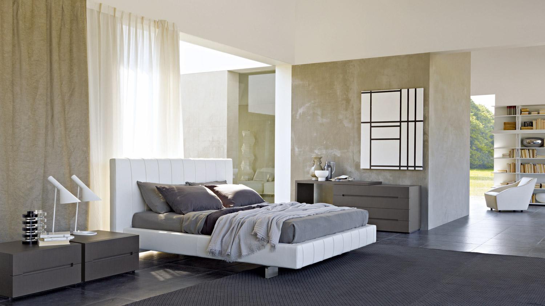 Molteni c high wave bed for Molteni furniture