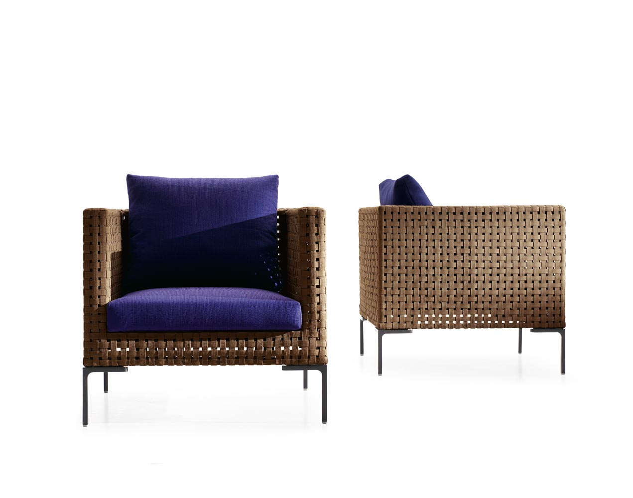 B b italia outdoor charles armchair buy from campbell for B and b italia outdoor