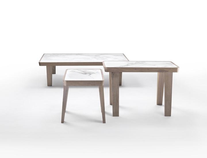 Flexform Dida Coffee/Side Tables