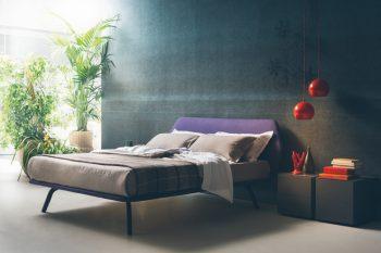 Trama Liscio Bed